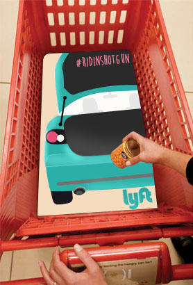 Lyft_shopping cart
